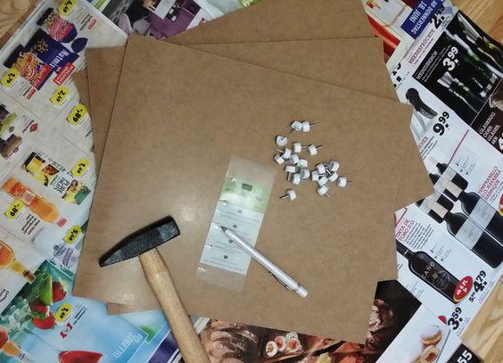 DIY Paper Storage - Papieraufbewahrung - Little Lizzy's Crafts
