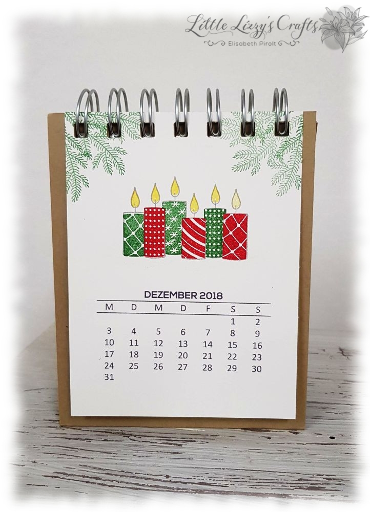 Kalender Dezember Freude im Advent Stampin' Up!