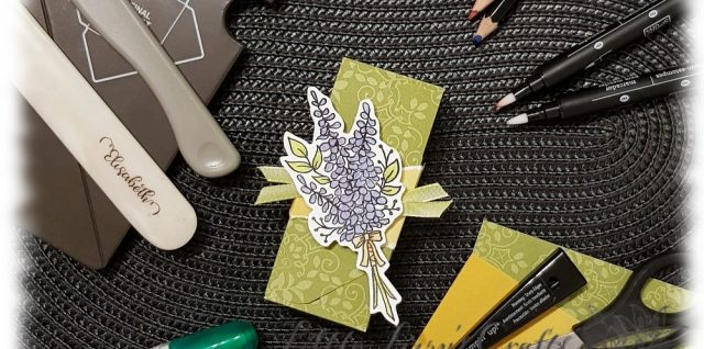 Verpackung Envelope Punch Board Lots of Lavender Stampin' Up!