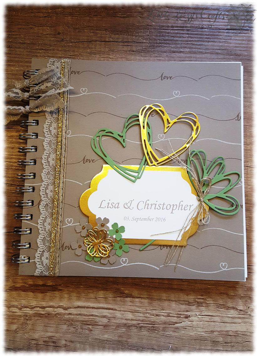 Hochzeitsgästebuch Stampin' Up!