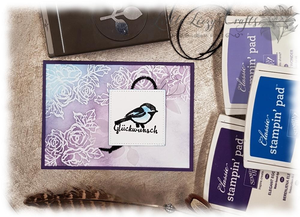 Glückwunschkarte Blütentraum Colour Combo Blog Hop Stampin' Up!