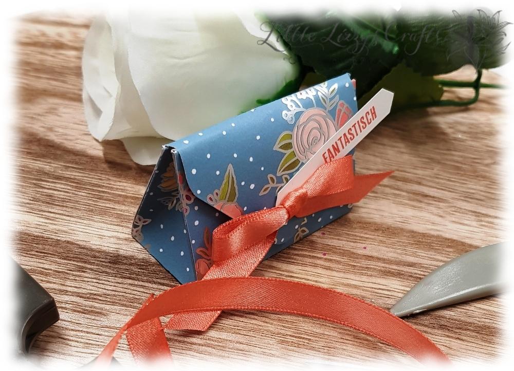 kleine Verpackung Falzbrett für Umschläge Geburtstagssoiree Stampin' Up!