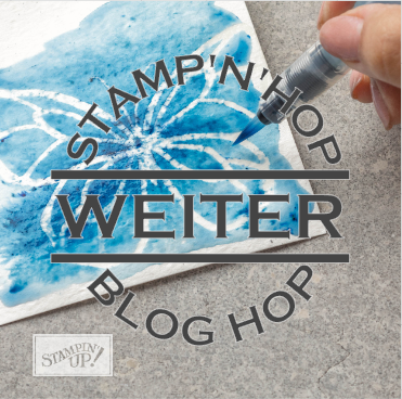 Weiter Button Stamp'N'Hop