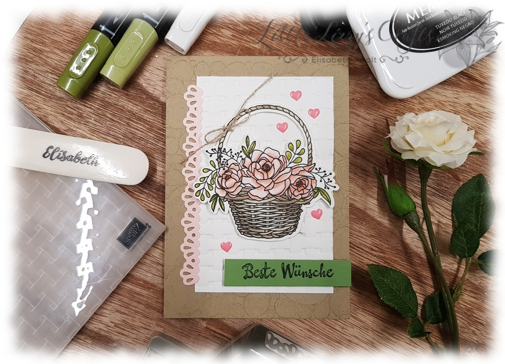 Blumenkorb Stampin' Blends Stampin' Up!
