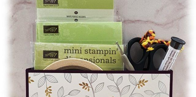 Schreibtisch Aufbewahrung Klebemittel Stampin' Up!