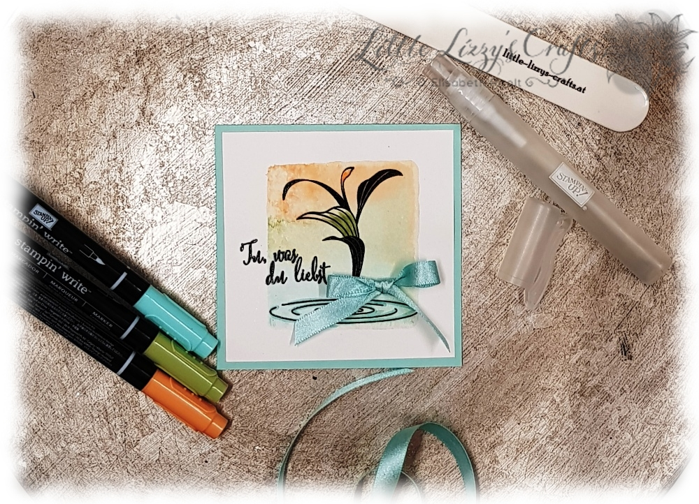 Colour Combo Blog Hop Mai 2018 Peaceful Reflection Stampin' Up!