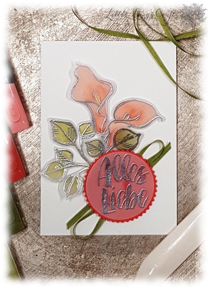 Callas Muttertag Karte Stampin' Up!
