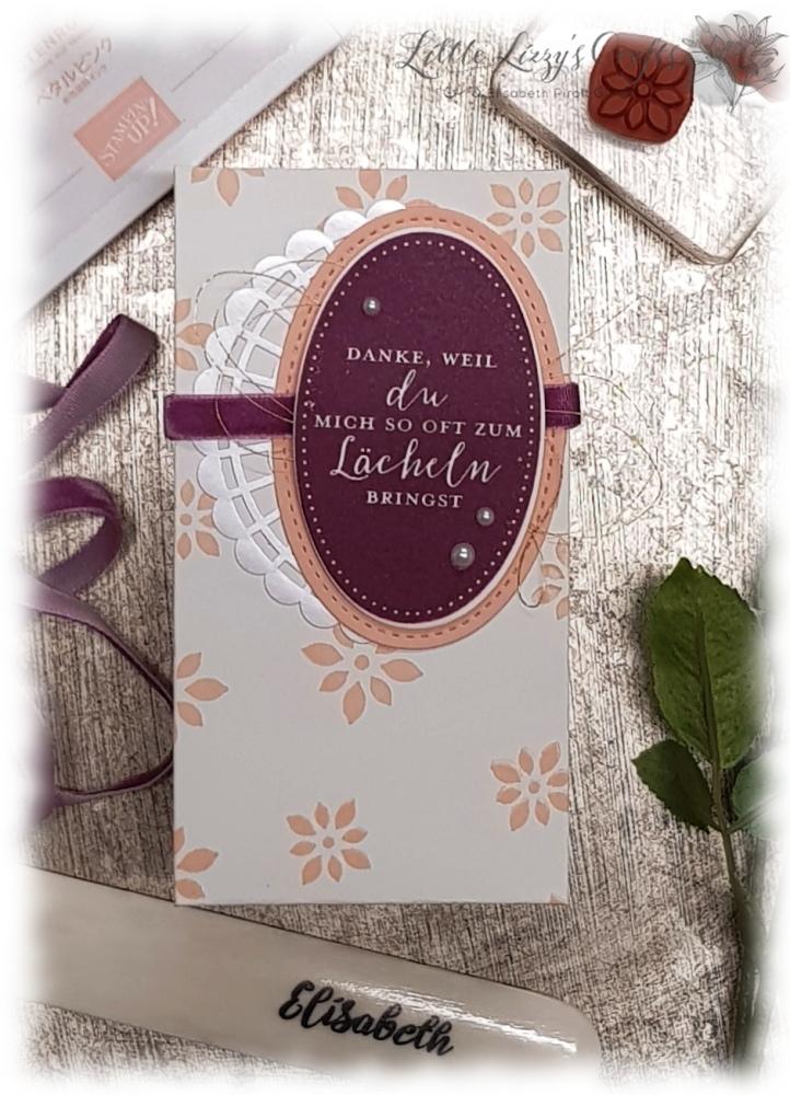 Hochzeit Geschenke Verpackung Falzbrett für Umschläge EPB Stampin' Up!