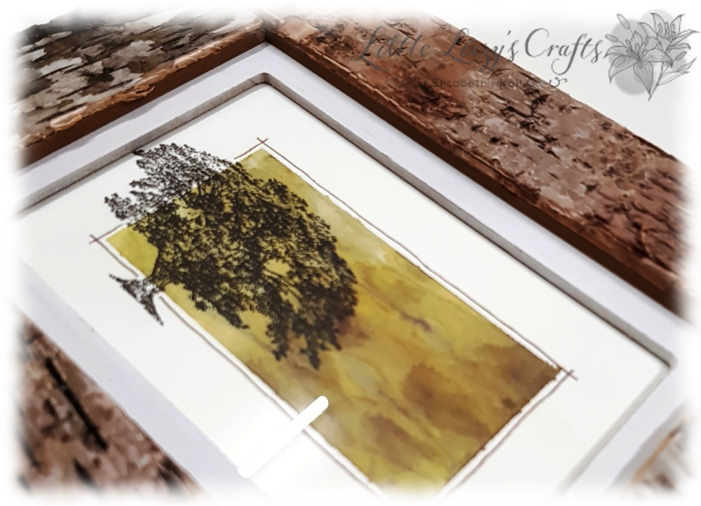 Picture Decoration Brusho Rooted in Nature Stampin' Up!