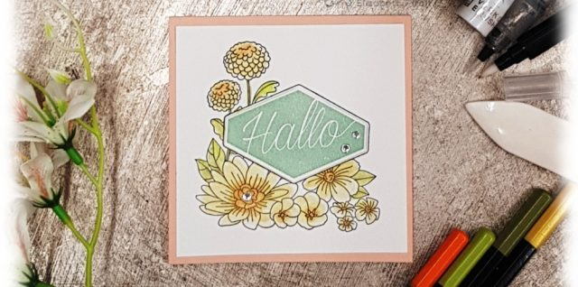 Make'N'Take Blumiges Etikett Stampin' Up!