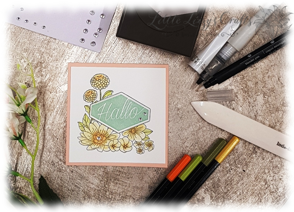 schnelle Karte Katalogparty Stampin' Up!