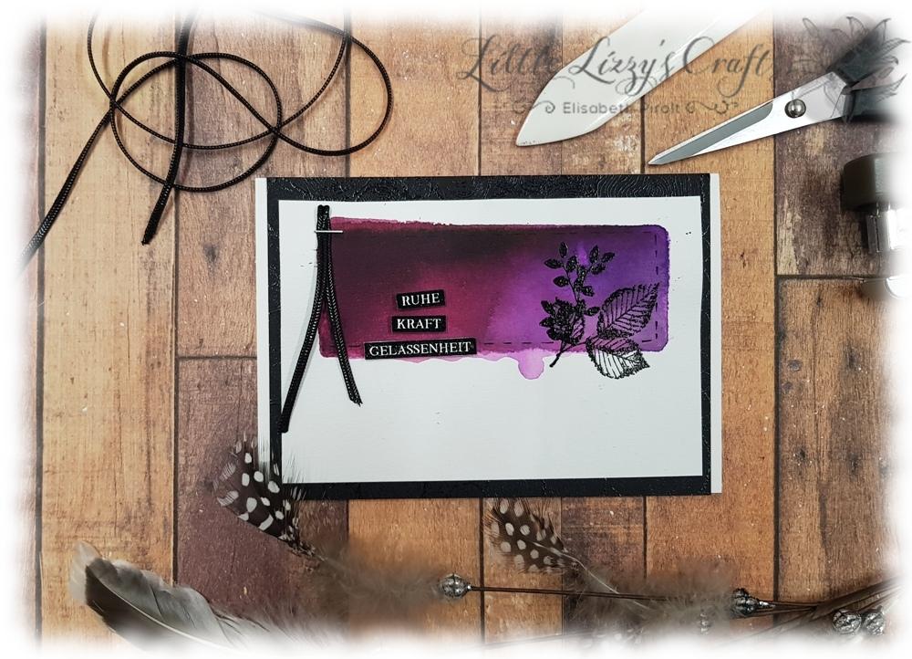 Blätter Stampin' Up! Acrylblock HIntergrund