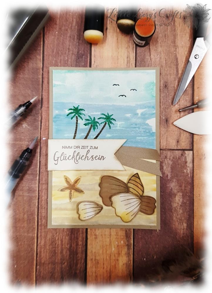 Das blühende Leben Strand Muscheln Am Ufer Stampin' Up!