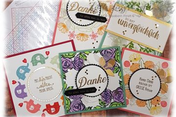 Wreath Builder Schablone Karten Stampin' Up!