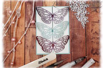 Frühlingsimpressionen Karte Schmetterling Stampin' Up!