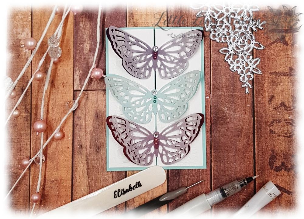 Frühlingsfreuden Karte Schmetterling Stampin' Up!