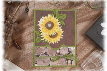 EPB Tuck In File Folder Karte Herbstanfang Stampin' Up!