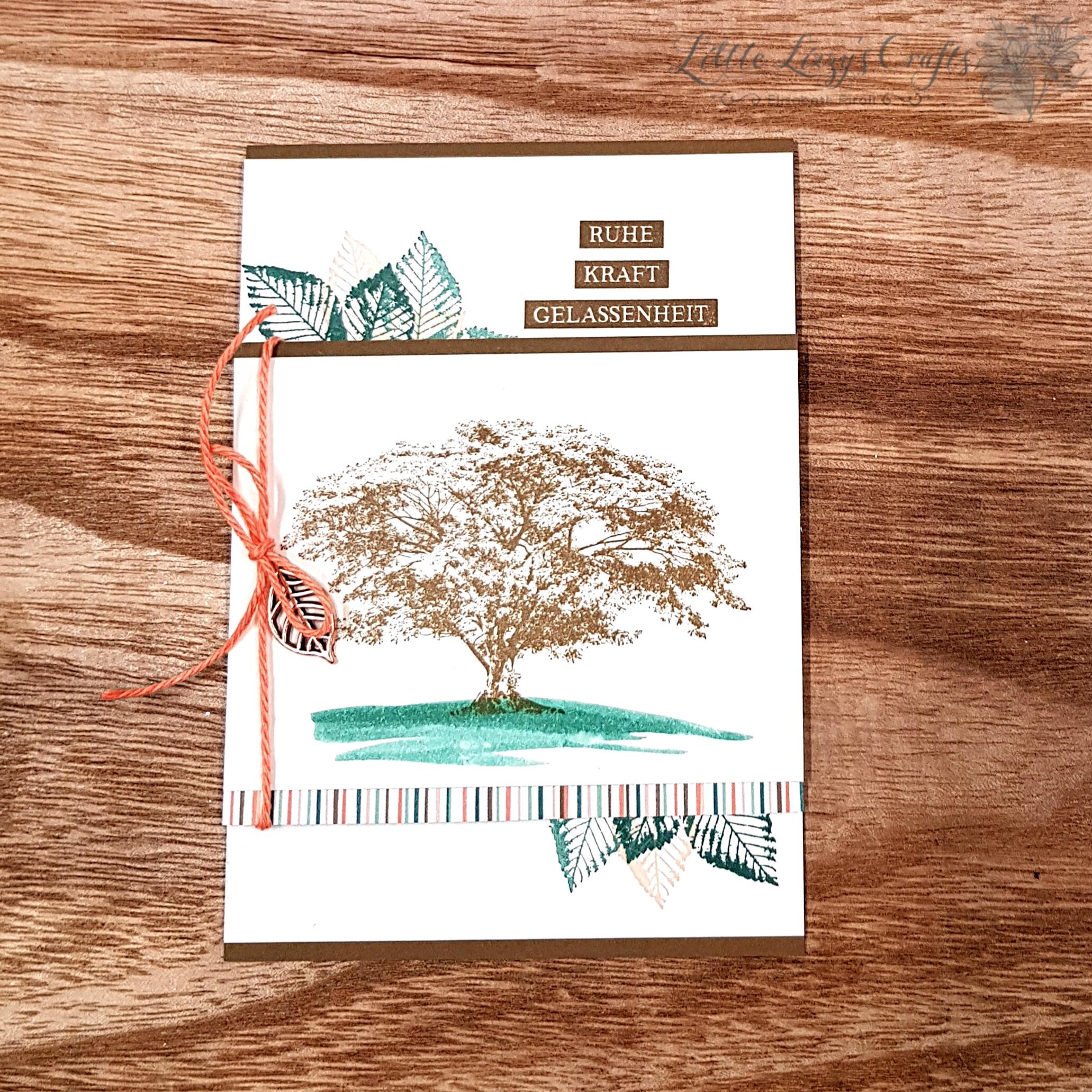 Poesie der Natur OnStage Präsentation Stampin' Up! Karte 1 Kraft der Natur