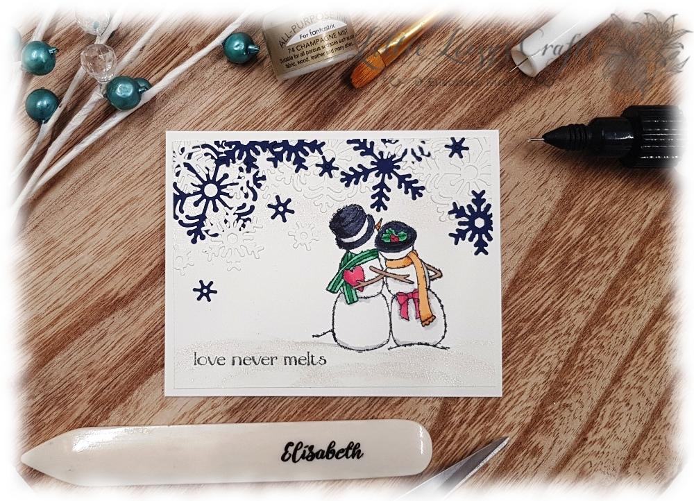 Spirited Snowmen Schneezauber Glanzfarbe Stampin' Up!
