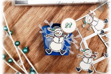 Spirited Snowmen Takeout Thinlits Adventkalender Stampin' Up!