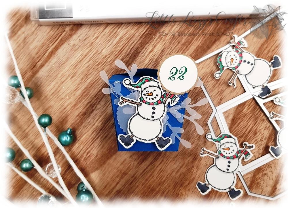 Spirited Snowmen Takeout Thinlits Adventkalender Stampin' Up!