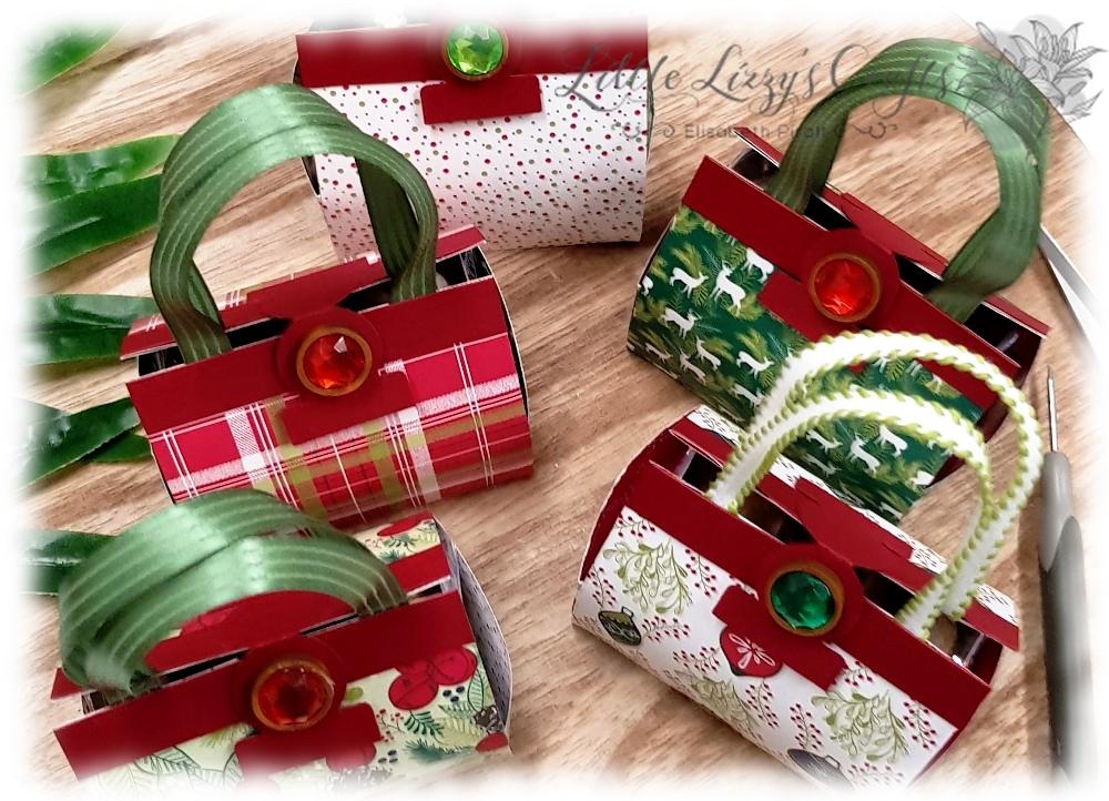 Box Verpackung Bag Tasche Adventmarkt Idee DIY Stampin' Up!