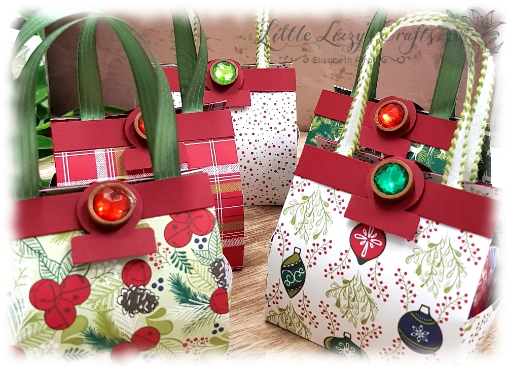 Handtasche Handbag Weihnachtsfreuden Under the mistletoe Stampin' Up!