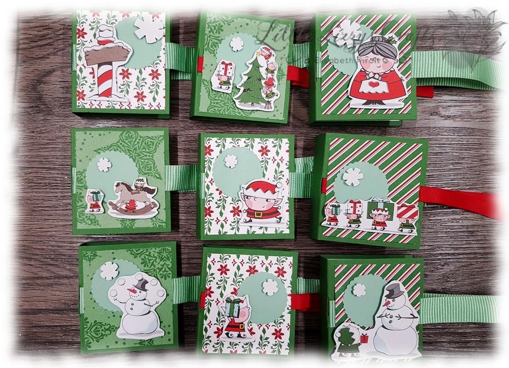 Lippenpflegestift Verpackung Elegante Weihnachten In der Weihnachtswerkstatt Anleitung Stampin' Up!
