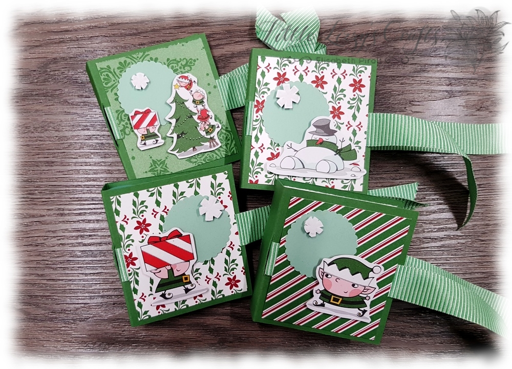 Dashing Along Santa's Workshop Lipbalm Goodie Stampin' Up!