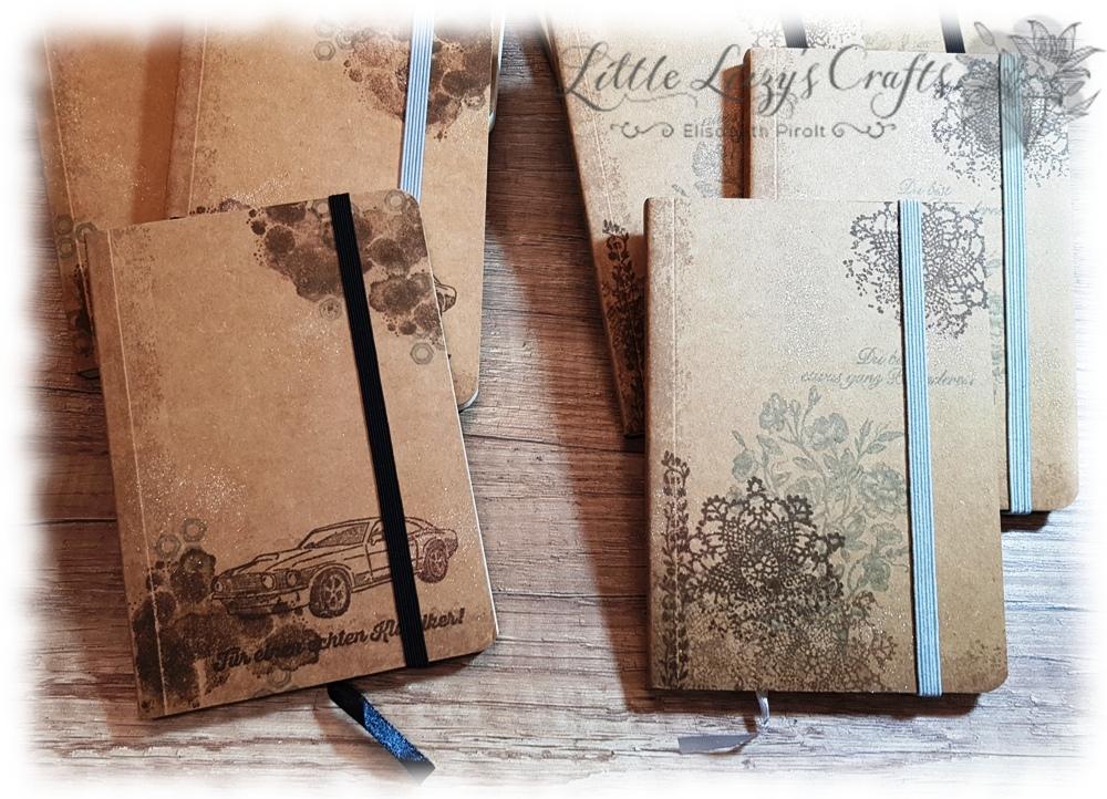 Vintage Notizbücher Wahrlich Vintage Werkstattworte Stampin' Up!