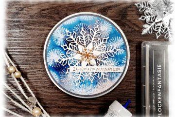 Schneeflocken Weihnachten Geschenke DIY Video Anleitung Stampin' Up!