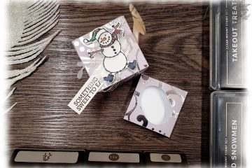 Spirited Snowmen Takeout Treats Stampin' Up!