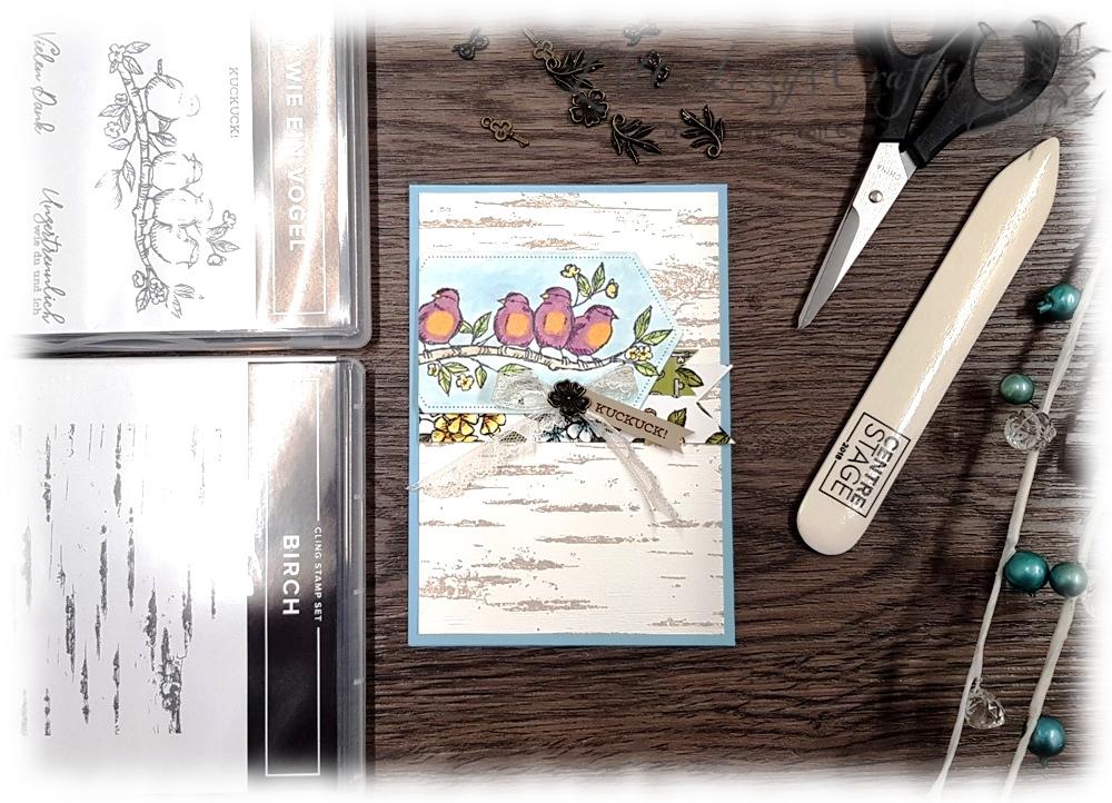 Produktreihe Vogelgarten Suite Bird Ballad Stampin' Up!