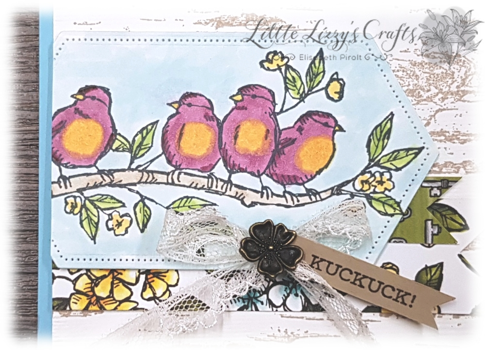 Stampin' Blends Vogel Vögel Bird Birds Stampin' Up!