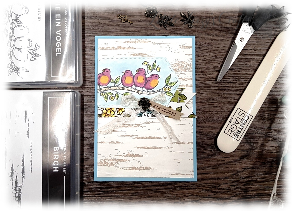 Vogelgarten Bird Ballad Frei wie ein Vogel Stampin' Blends Stampin' Up!