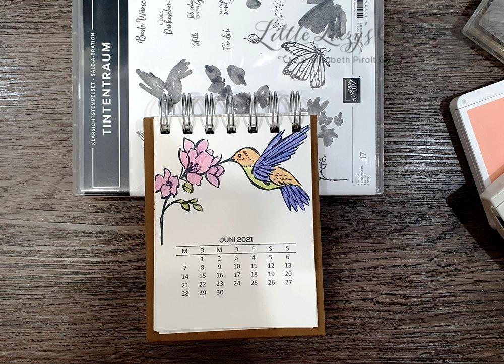 Tintentraum Stampin' Up! Tischkalender Cinch