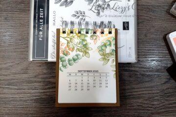 Für Alle Zeit Stampin' Up! Tischkalender Cinch