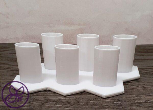 Pinselhalterung für 6 Blending Pinsel 3D Druck