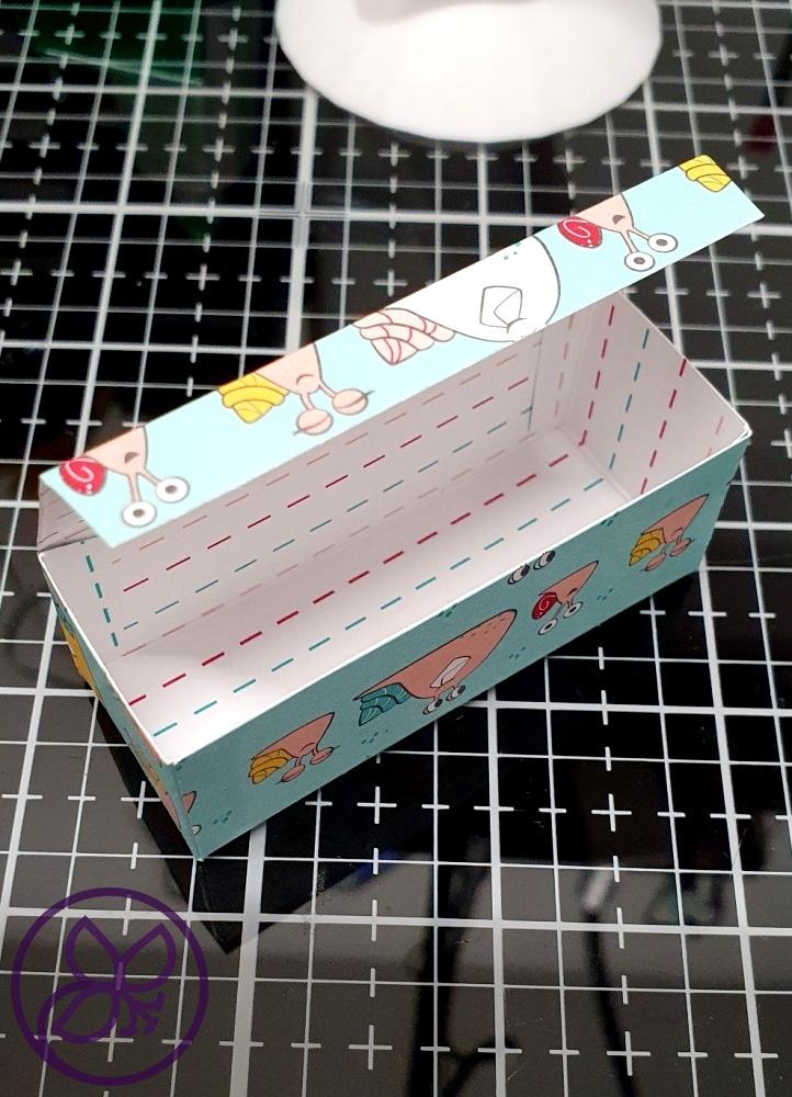 Box zusammenkleben